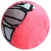 Игрушка для кошек мячик иск.мех 6 см (набор 6 шт)