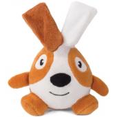 """Игрушка """"Кролик-ушастик"""" для собак, плюш, 15 см"""