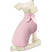 """Свитер """"Нежность"""" для собак, акрил, розовый, XS ( 20 см. )"""