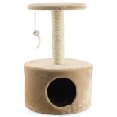 Домик-когтеточка для кошек (TM05), 38*38*61 см