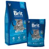 Сухой корм Premium Cat Kitten с курицей в лососевом соусе для котят