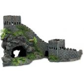 """Грот 055KBd """"Стена замка"""", полиэфирная смола, 46,5*23,5*24,6 см"""