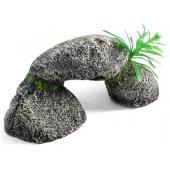 """Грот """"Арка из камней"""", полиэфирная смола, 13*6,6*5,5 см"""