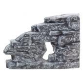 """Грот """"Скалистая бухта - фон объемный правый"""", керамика, 37*25,5*6 см"""