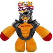 """Игрушка """"Гладиатор"""" с пищалкой, для собак, текстиль/резина, 26 см"""
