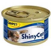 Влажный корм (консервы) с тунцом и креветками для кошек (413297), 70 гр
