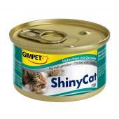 Влажный корм (консервы) с цыпленком и креветками для кошек (413129), 70 гр