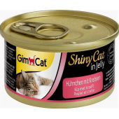 Влажный корм (консервы) с цыпленком и крабами для кошек (413334), 70 гр