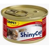 Влажный корм (консервы) с цыпленком для кошек (413112), 70 гр