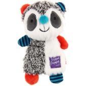 Игрушка для маленьких собак Енот с пищалкой, серия SUPPA PUPPA (85007) 17,5см