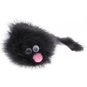 """Игрушка """"Зверёк из норки"""" для кошек, натуральный мех, 5 см"""