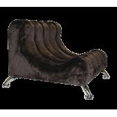 """Лежак """"Диванчик"""" для животных из искусственного меха 64*67*47см"""
