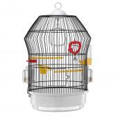 Клетка для птиц KATY (черная) Ø 36,5 x 56 см. (51030714)