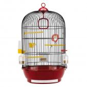 Клетка для птиц DIVA (черная) Ø 40 x 65 см. (51056811)