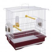 Клетка для птиц GIUSY (белая) 39 x 26 x h 37 см. (52008514)