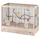 Клетка для птиц GIULIETTA 6 NERA (деревянная) 69 x 34,5 x h 58 см (52067217)