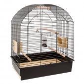 Клетка для птиц GRETA (черная) 69,5 x 44,5 x h 84 см (55008817)