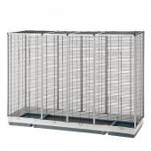 Клетка ESPACE 200 для для птиц или грызунов 202 x 62 x h 153 см (57016617)