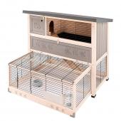 Клетка RANCH 120 MAX для содержания кроликов на улице, деревянная 117 x 69 x h 107 см 57091200