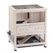 Клетка COTTAGE MINI для содержания кроликов на улице, деревянная 78,5 x 59,5 x h 94 см 57093900