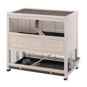 Клетка COTTAGE для содержания кроликов на улице, деревянная 108 x 59 x h 102,5 см 57094000