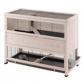 Клетка COTTAGE LARGE для содержания кроликов на улице, деревянная 129 x 68 x h 103,5 см 57094200