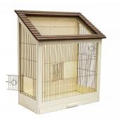 "Клетка для птиц ""Ретро-кантри золото"" 40*29*61см."