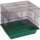 Клетка для грызунов 3-х этажная (130ж) 36х24х38 см