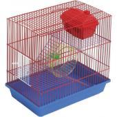 Клетка для грызунов 3-х этажная комплект (135ж) 36х24х38 см