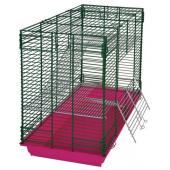 Клетка для шиншилл и хорьков (720ж) 60*40*80 см