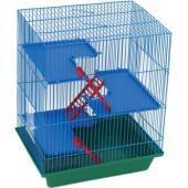 Гризли-4 клетка для грызунов (240) 41х30х52 см.