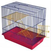 Гризли-3 клетка для грызунов (230ж) 41х30х35 см