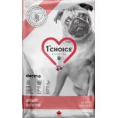 Беззерновой корм для собак с гиперчувствительной кожей GF DERMA, лосось