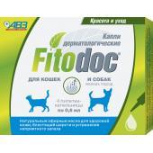 Фитодок капли дерматологические для мелких пород собак и кошек