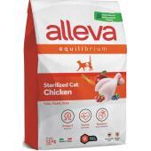 Equilibrium Cat сухой корм для кастрированных котов и стерилизованных кошек с курицей, Sterilized Chicken