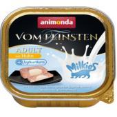 Консервы для взрослых кошек с курицей и йогуртовой начинкой (VOM FEINSTEN + MILKIES ADULT)