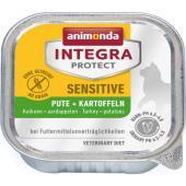 Консервы Integra для взрослых кошек при пищевой аллергии с индейкой и картофелем (Sensitive)