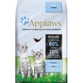 """Беззерновой для Котят """"Курица/Овощи: 80/20%"""" (Dry Cat Kitten)"""