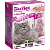 Кусочки в желе для кошек с ягненком