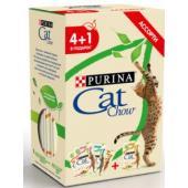 Промо-набор 4+1 Паучи для взрослых кошек Ассорти