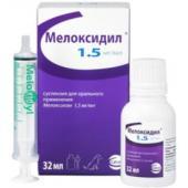 Мелоксидил при заболеваниях опорно-двигательного аппарата собак, 32мл