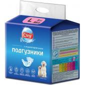 Подгузники для животных весом 8-16кг (размер L ) 8 шт.