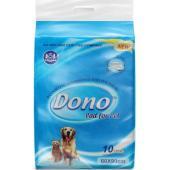 Пелёнки гелевые DONO PET PAD с феромонами 60x60см 10шт.