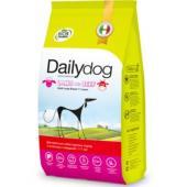 Для взрослых собак крупных пород с ягненком и говядиной
