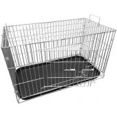 Клетка для животных, КлС-6 39*72*43см, пластиковый поддон