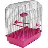 """Клетка для птиц """"РОМА"""", 37*25*46см, рубиновый поддон"""