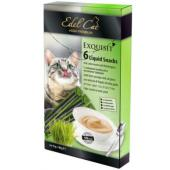 Лакомство для кошек крем-суп с ливерной колбасой и луговыми травами 6*15г