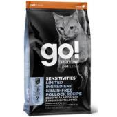 Корм беззерновой для котят и кошек с чувствительным пищеварением, с минтаем, Sensitivity + Shine Grain Free Pollock Cat Recipe