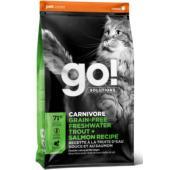 Корм беззерновой для котят и кошек с чувствительным пищеварением с форелью и лососем, Sensitivity+Shine Grain Free Freshwater Trout&Salmon Cat Recipe 48/18