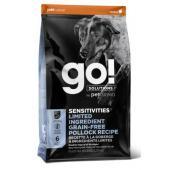 Корм GO! беззерновой для щенков и собак, с минтаем для чувствительного пищеварения, Sensitivity + Shine LID Pollock Dog Recipe, Grain Free, Potato Free